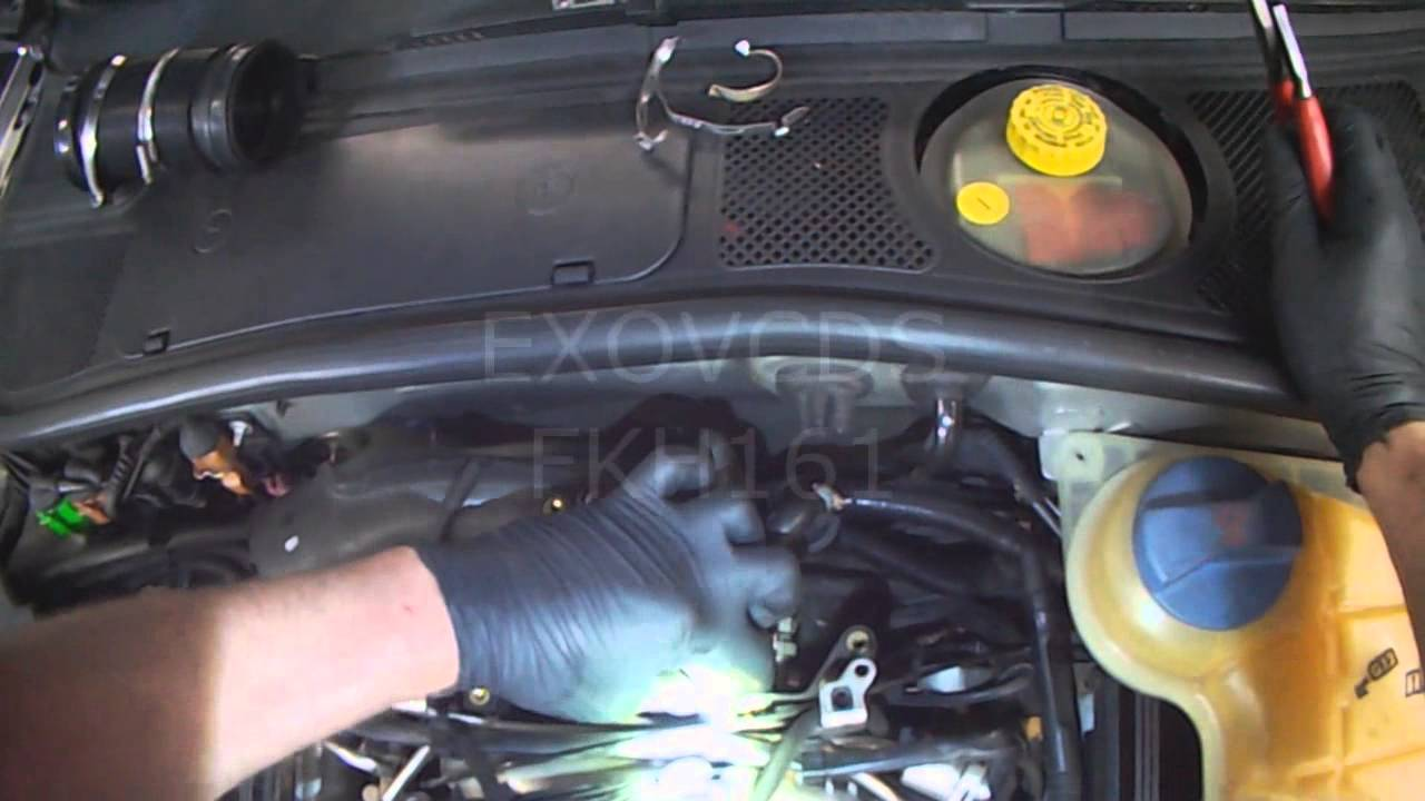 2014 Vw Eos Fuse Box Diagram Audi B5 V6 Atq Throttle Body Replacement Part 1 Youtube