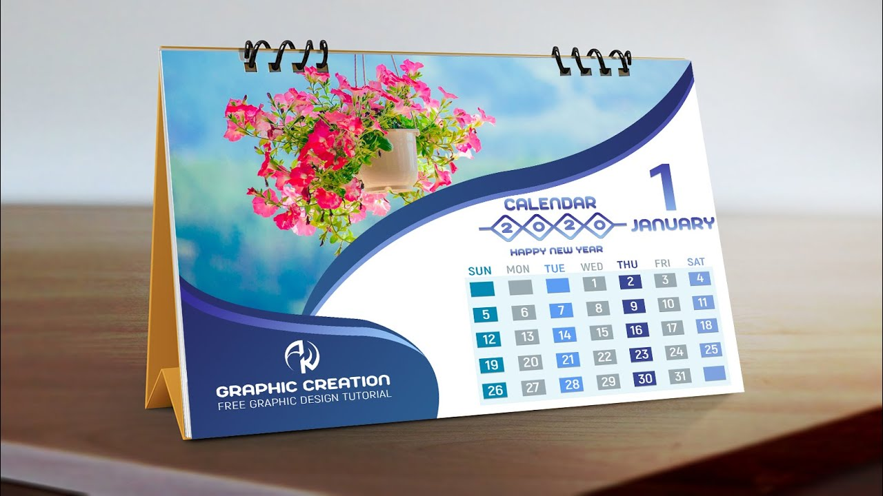 how to design a calendar in photoshop