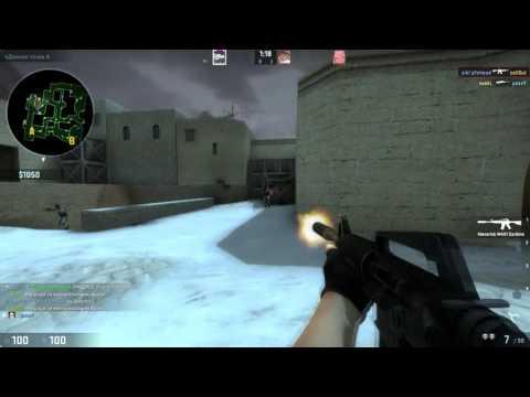 csgo: classic offensive mod. p1nhead (-4 de_dust2_winter)