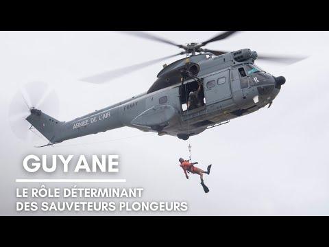 BA367 Guyane : le rôle déterminant des sauveteurs-plongeurs