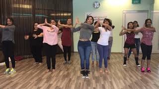 Cheez Badi Hai Mast Mast || Udi Udi Jaye || Dance Bollywood International || Singapore