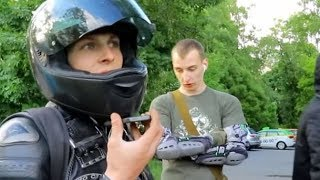 Stop a Douchebag SPB - Cheeky Biker