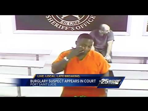 One of four armed robbery suspects in court