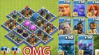 Who Can Survive This Difficult Trap ? Clash of Clans Private Server | coc attack | #gamingwithekram