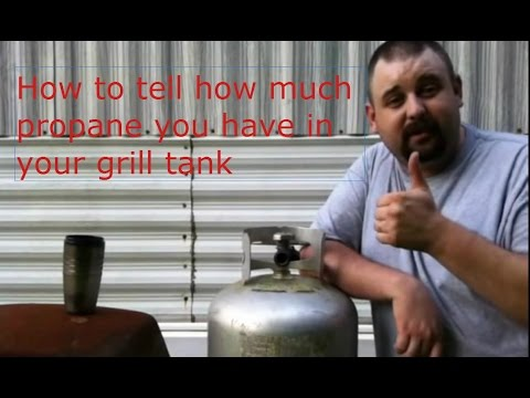 Get How To Tell How Much Propane You Have In Your Propane Grill Tank-The Easy Way Pics