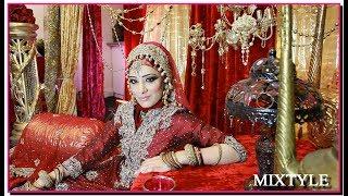 Сказочная невеста из Индии ❤ Азиатский свадебный макияж 6⃣