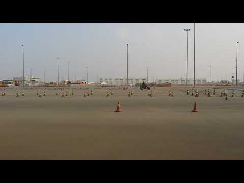 Abu Dhabi motorcycle licence training in driving school