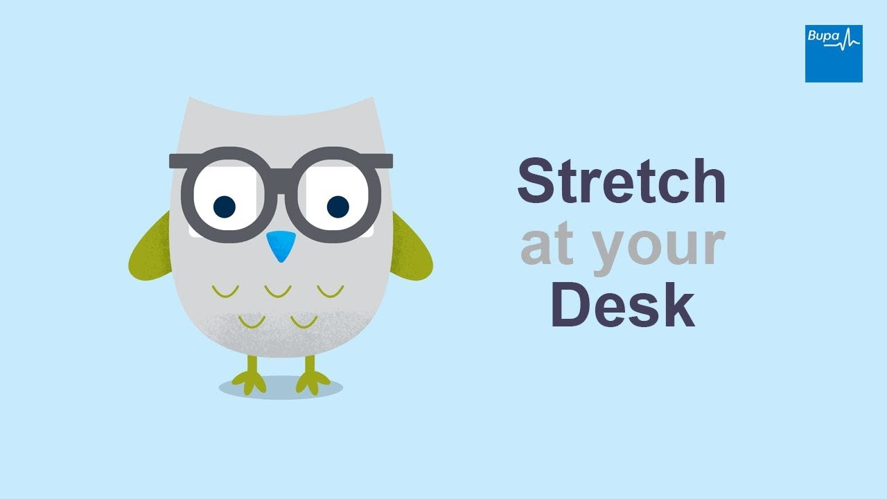 Stretch At Your Desk Youtube