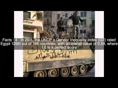 Gender inequality in Egypt Top  #6 Facts