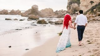Little Mermaid Wedding Photoshoot: Kiss The Girl - Traci Hines x Your Cloud Parade