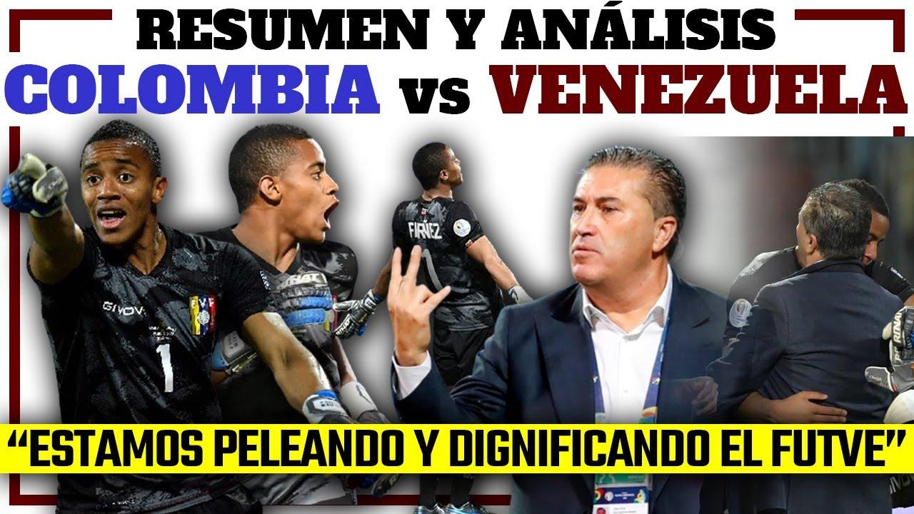 COLOMBIA 0-0 VENEZUELA - Resumen y análisis | Punto de oro - José Peseiro y la dignidad Vinotinto