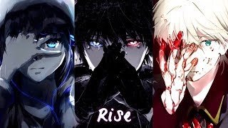 Nightcore - Rise (Rock Version) || Switching Vocals || Lyrics「Katy Perry」
