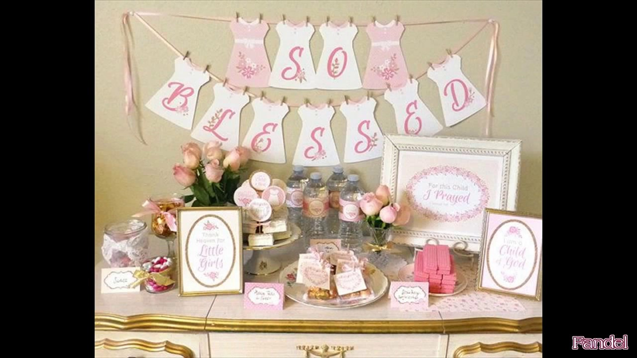 baptism party ideas for