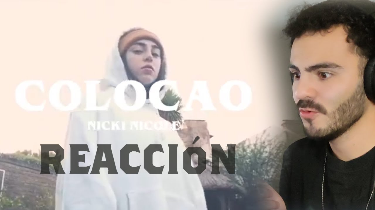 ??MEXICANO REACCIONA | Nicki Nicole - Colocao (Video Oficial)