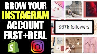 How to Grow an Instagram Account for Your Dropshipping Store