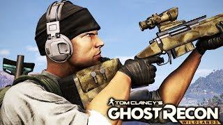 Ghost Recon Wildlands: Sniper Stealth Mission Gameplay