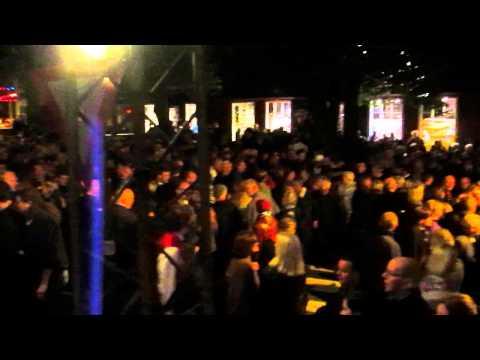 Traditional Faroese Chain Dance, Ólavsøka National Festival, 2013 - part I