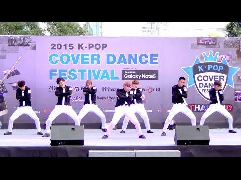 150905 MisterTarn cover BTS - I NEED U + DOPE @Thailand 2015 K-POP Cover Dance Festival