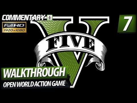 Grand Theft Auto V (GTA 5) Walkthrough PART 7 - Bike Race, Diving & Jet Sky Pursuit (Commentary)