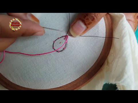 Beautiful Stump Work  | Felt Flower Embroidery/hand Embroidery