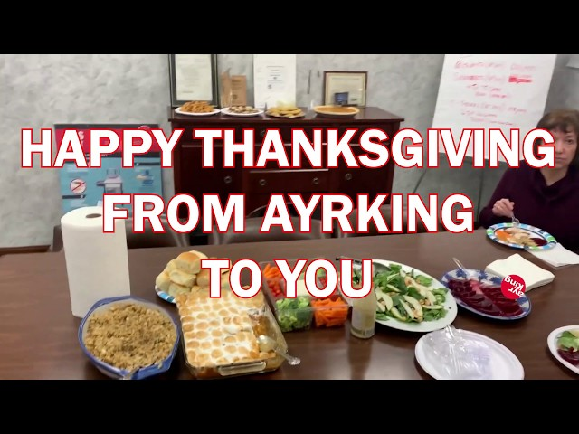 AyrKing Thanksgiving