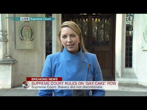 Supreme Court rule in 'Gay Cake' row - Emma Vardy reports