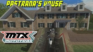MTX Mototrax - Travis Pastrana's House! - Freeride Gameplay