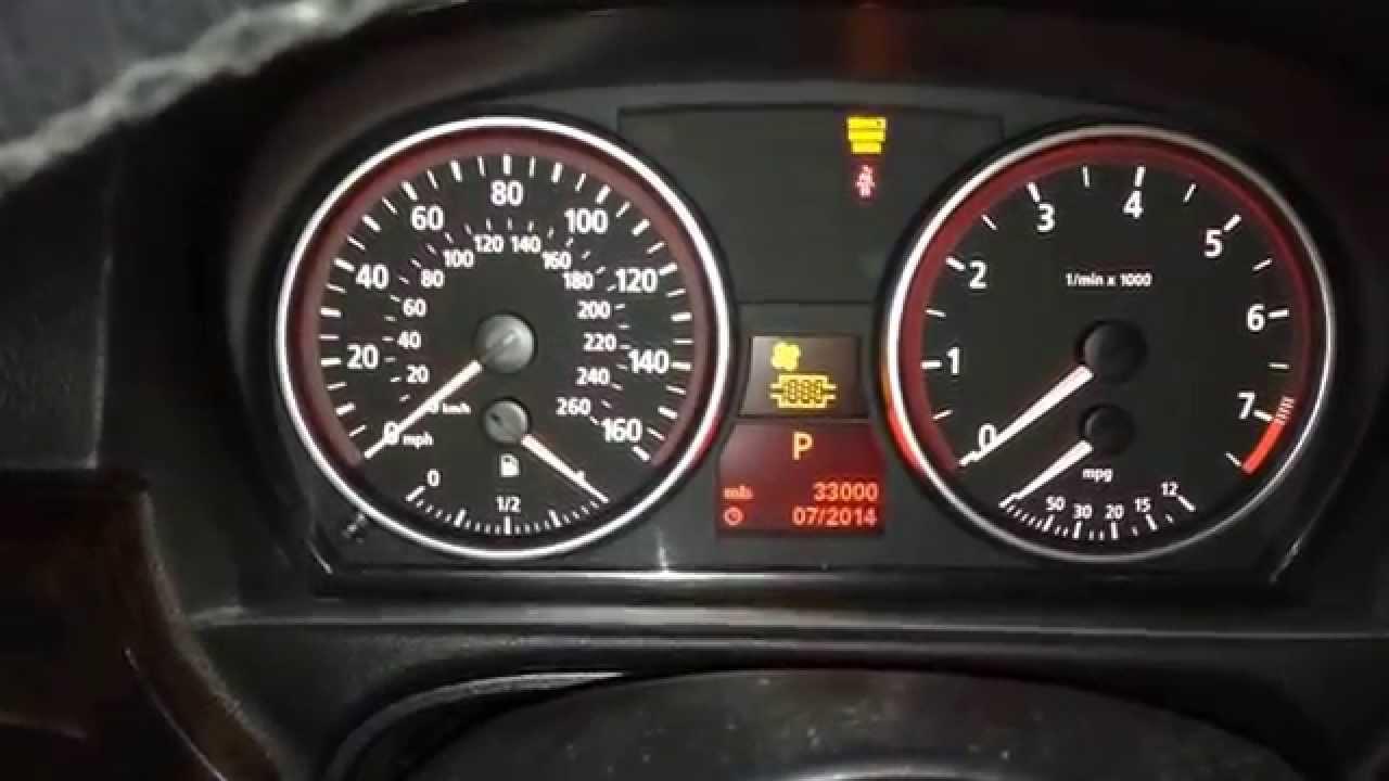 2006 Bmw 325i Warning Light Symbols