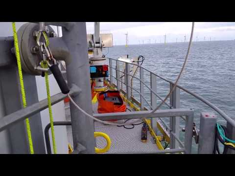 Typical day on Gwynt Y Mor wind farm for AIS Offshore Renewables