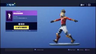 Fortnite new Crackdown emote on Crackshot