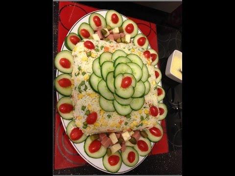 salade compose marocaine - Decoration De Cuisine 2015 En Rose