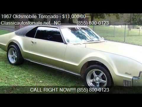 1967 oldsmobile toronado for sale in nationwide nc 27603 a vnclassics youtube. Black Bedroom Furniture Sets. Home Design Ideas