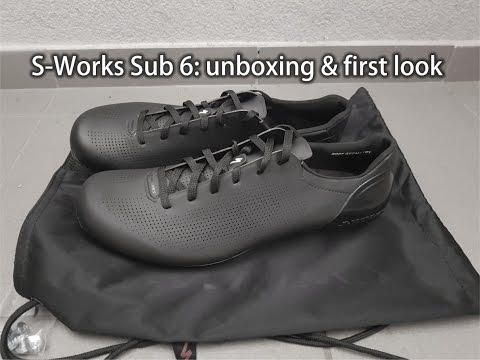 S-Works Sub6 road shoes - unboxing and