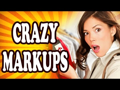 Top 10 Biggest Product Price Markups