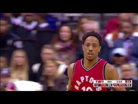 DeMar DeRozan 'Best Footwork In The NBA' Part I: The Side Step Back (Fadeaway) Jumper