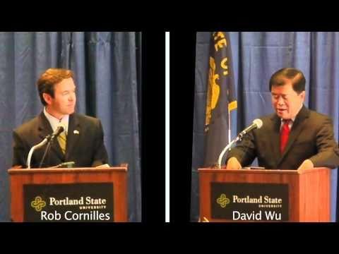 Rob Cornilles and David Wu debate Bush tax cuts