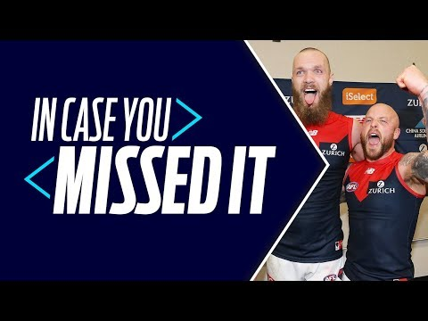 Demons in heaven, Pies do Dele challenge   In Case You Missed It   Round 22, 2018   AFL