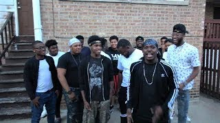 CHICAGO WEST SIDE REX GANG INTERVIEW PART 2 /  FREESTYLE RAP.