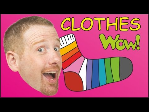 Getting Dressed | Clothes for Kids | English Stories for Kids from Steve and Maggie