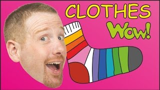 Скачать Getting Dressed Clothes For Kids English Stories For Kids From Steve And Maggie