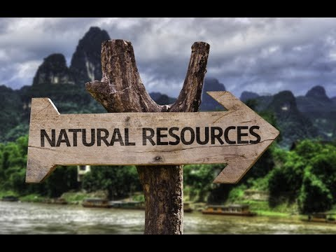 Top 5 countries with large amount of natural Resources
