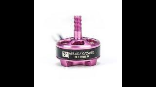 T-Motor AIR 40 2205 2450 speed test
