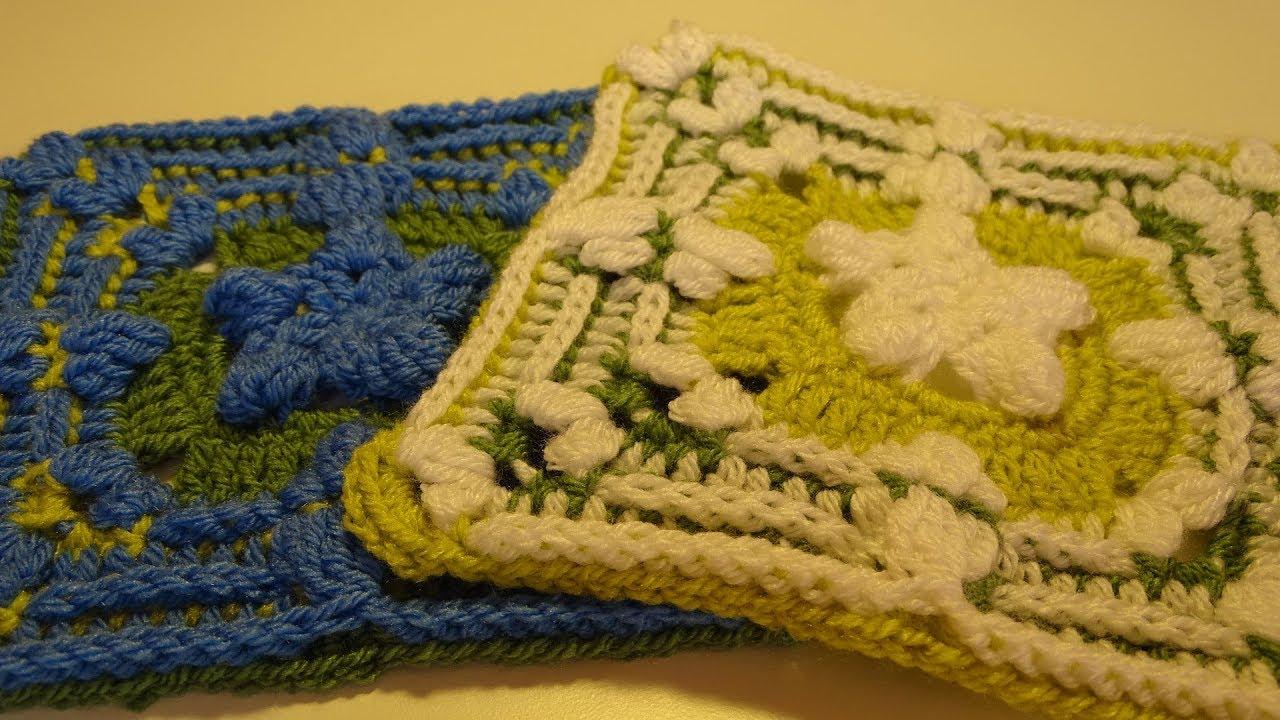 Crochet Blanket The Secret Garden Part 5 Delphiniums Youtube