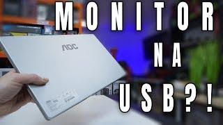 AOC I1601FWUX  - przenośny monitor na USB - TEST