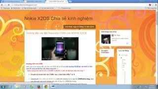 Hướng dẫn flash Custom Recovery Nokia X2 DS