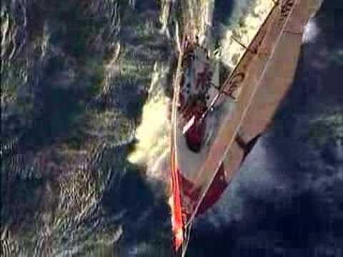 Pirates Volvo Ocean Race footage