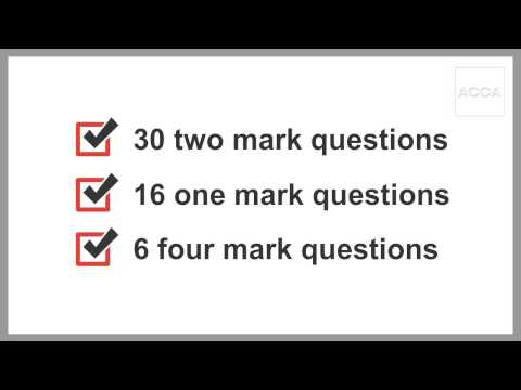 ACCA F1 Questions