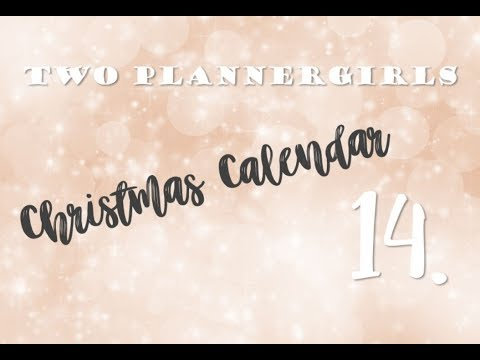 Christmas calendar, day 14 - Who do I follow on Youtube I Jenny
