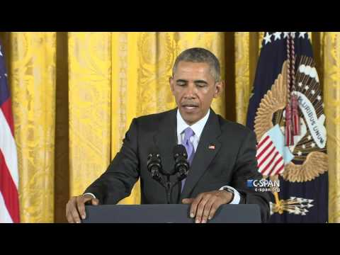 President Obama on revoking Bill Cosby's Medal of Freedom (C-SPAN)