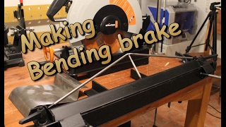 Metal working: Sheet metal bending brake.  Part 1 / 2